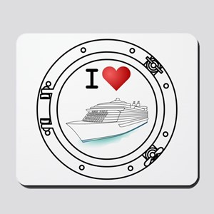 I Heart Cruising Mousepad